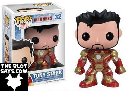 San Diego Comic-Con 2013 Exclusive Tony Stark Iron Man 3 Pop! Marvel Vinyl Figure by Funko