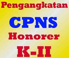 Pengankatan CPNS Honorer K2