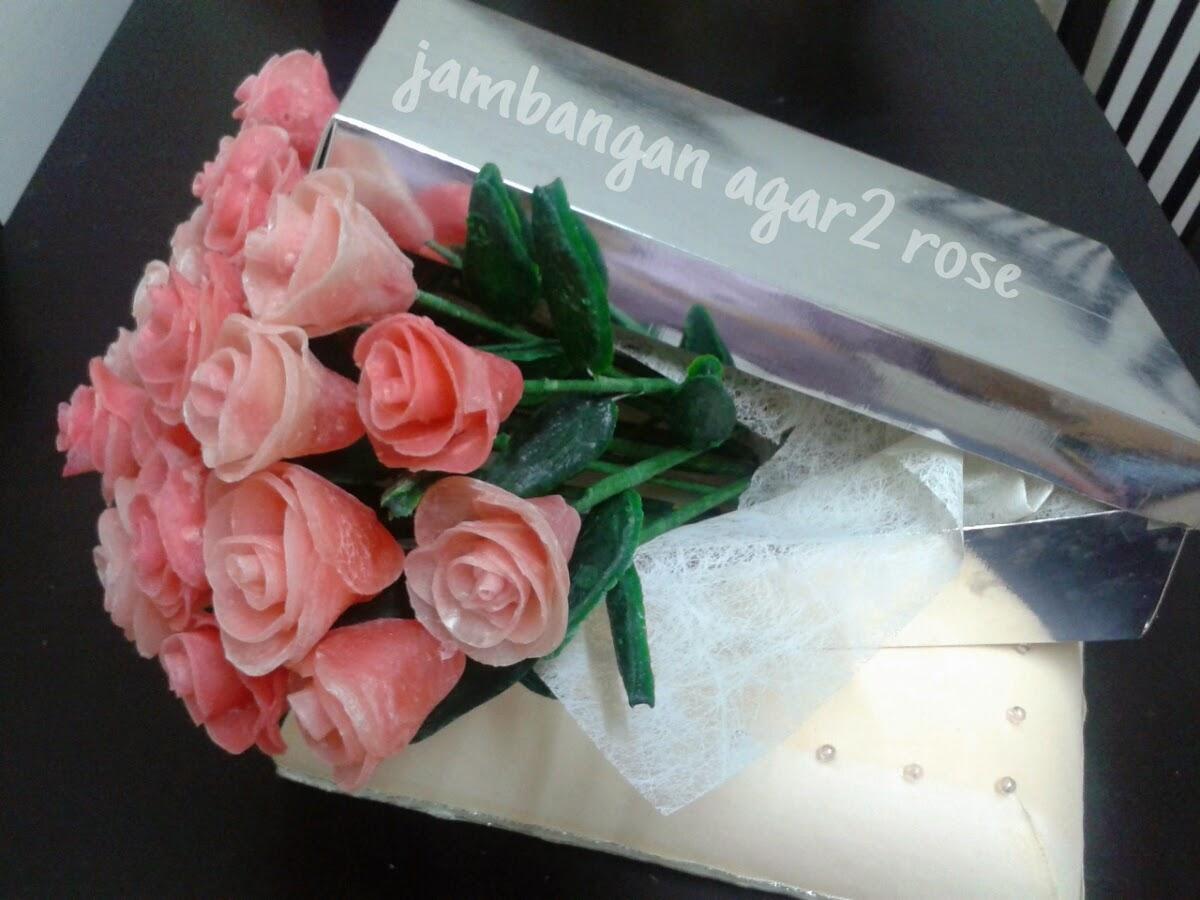 GUBAHAN JAMBANGAN AGAR2 ROSE ~ RM120