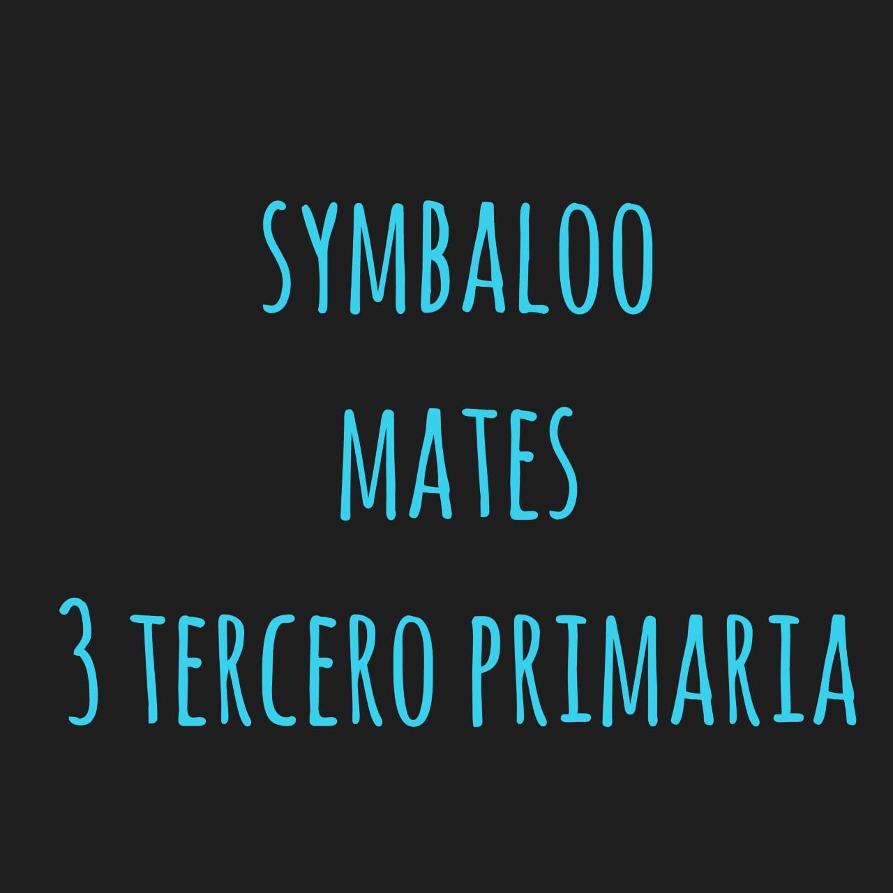 Symbaloo Mates 3º