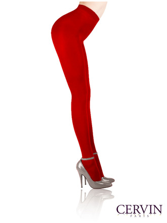 Kiss Me Deadly Cervin Red Tights