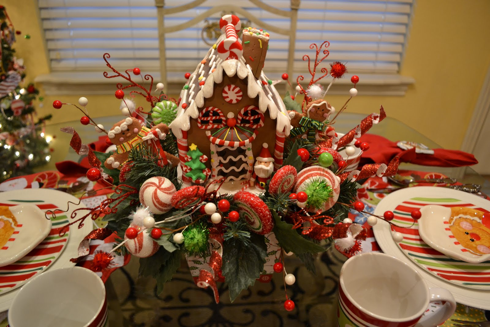 Kristen s creations gingerbread house tablescape