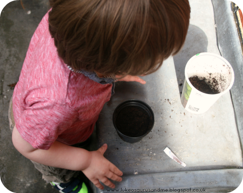 Things To Do In Spring: Plant Herbs! // Get your kids involved in the garden (and in the kitchen) by engaging them in something as simple and as fun as planting a few herbs in the garden. // www.lukeosaurusandme.blogspot.co.uk