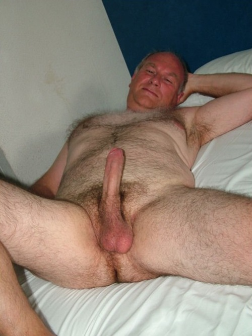 Silver Daddy Naked Hairy Gay Big Cocks