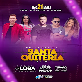 FESTEJOS DE SANTA QUITÉRIA 2019