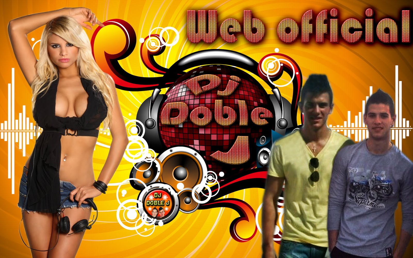 Web Oficial - Dj Doble J