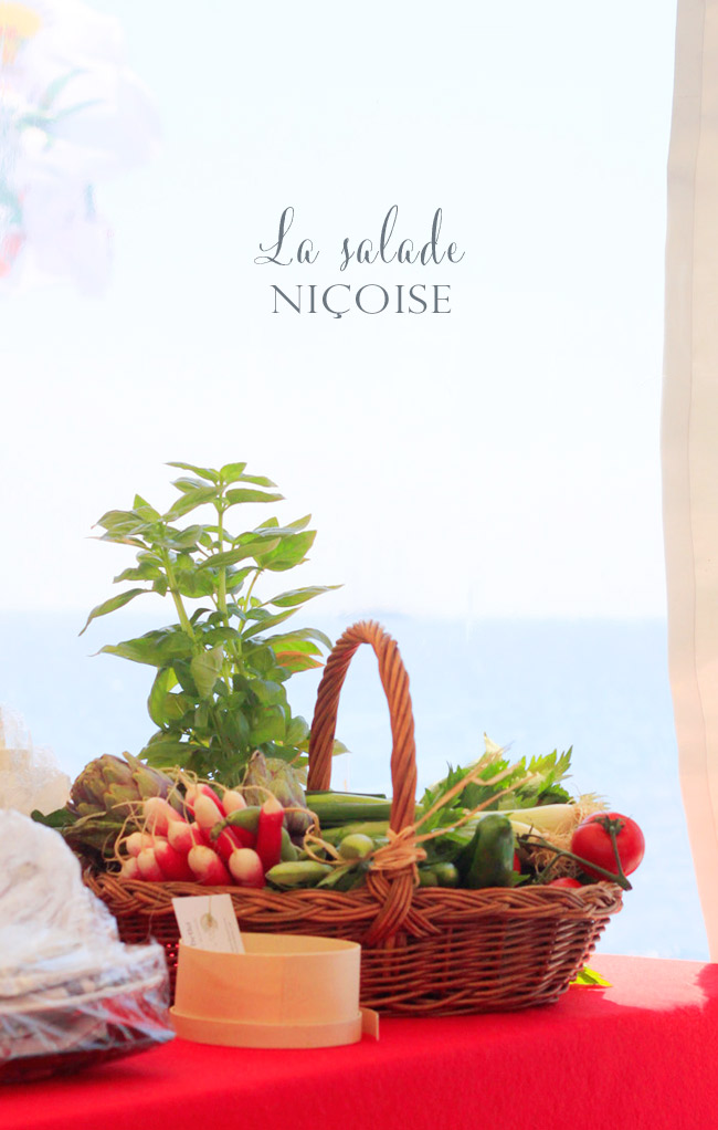 l'Italie à table salade nicoise