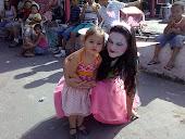 A tia Li de Borboleta e a Bonequinha Mariana