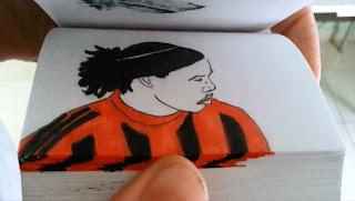 Ronaldinho en FlipBook