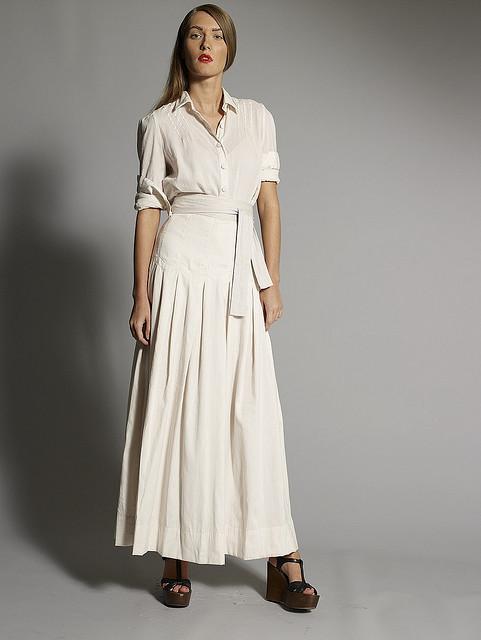 Trendy Plain Maxi Skirts For Women