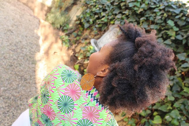 She is Aisha from South Africa, love her natural hair look. You can