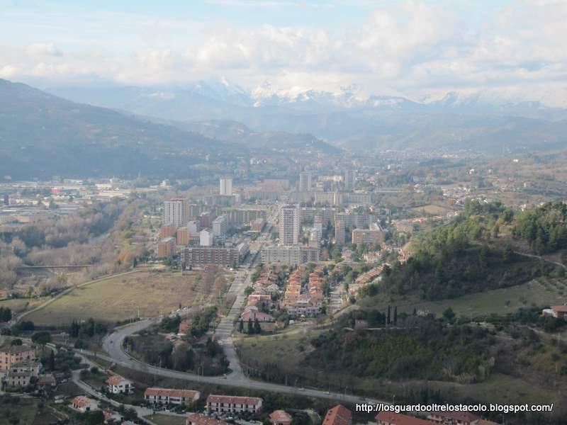 Ascoli vista da Monticelli