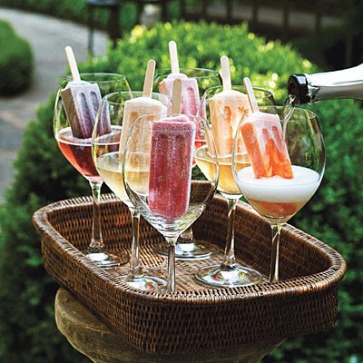 ... rage this year we love these simple Proseccoand Ice Lolly Cocktails