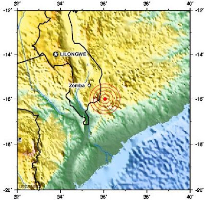 mozambique earthquake 2012 may 13