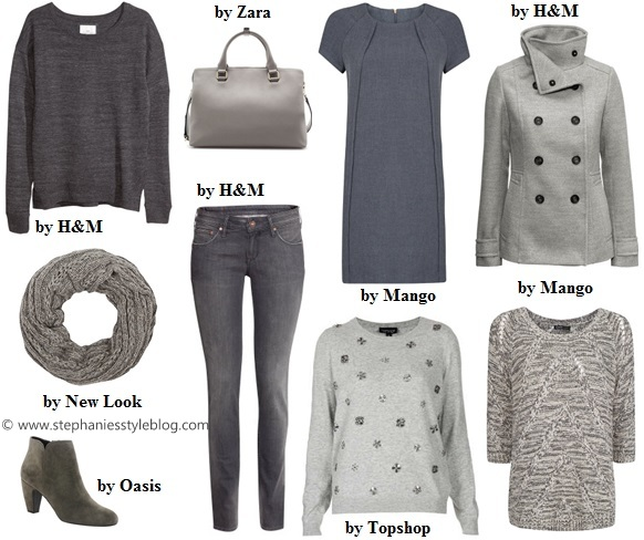 50 shades of grey, trend, fall, sweater, scarf, coat
