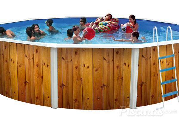 Hogar diez piscinas desmontables una gran compra for Montar piscina desmontable