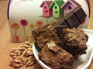 Brownie Chocolate y nueces