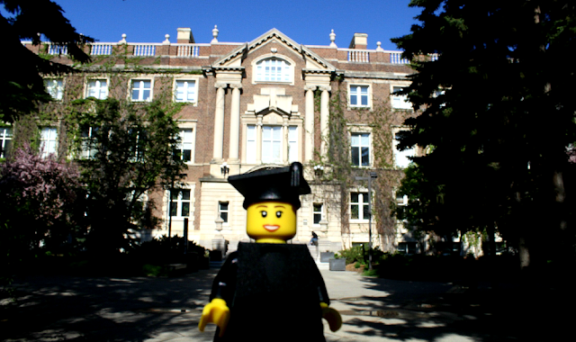 U of A Grad Photo at Convocation Hall