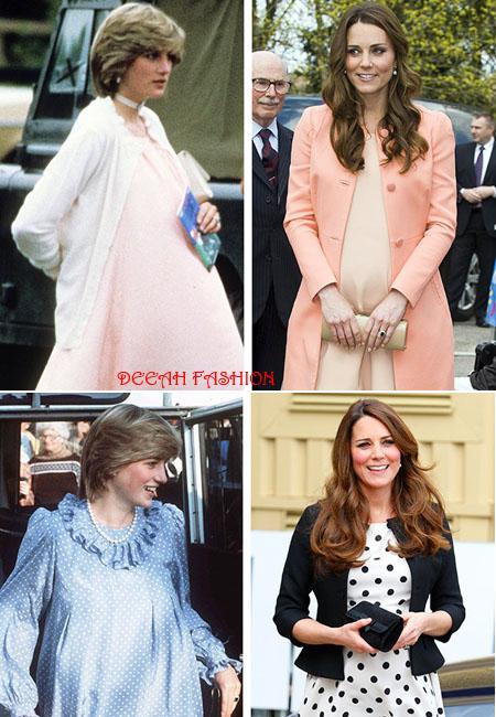 3 Gaya Baju Hamil Kate Middleton