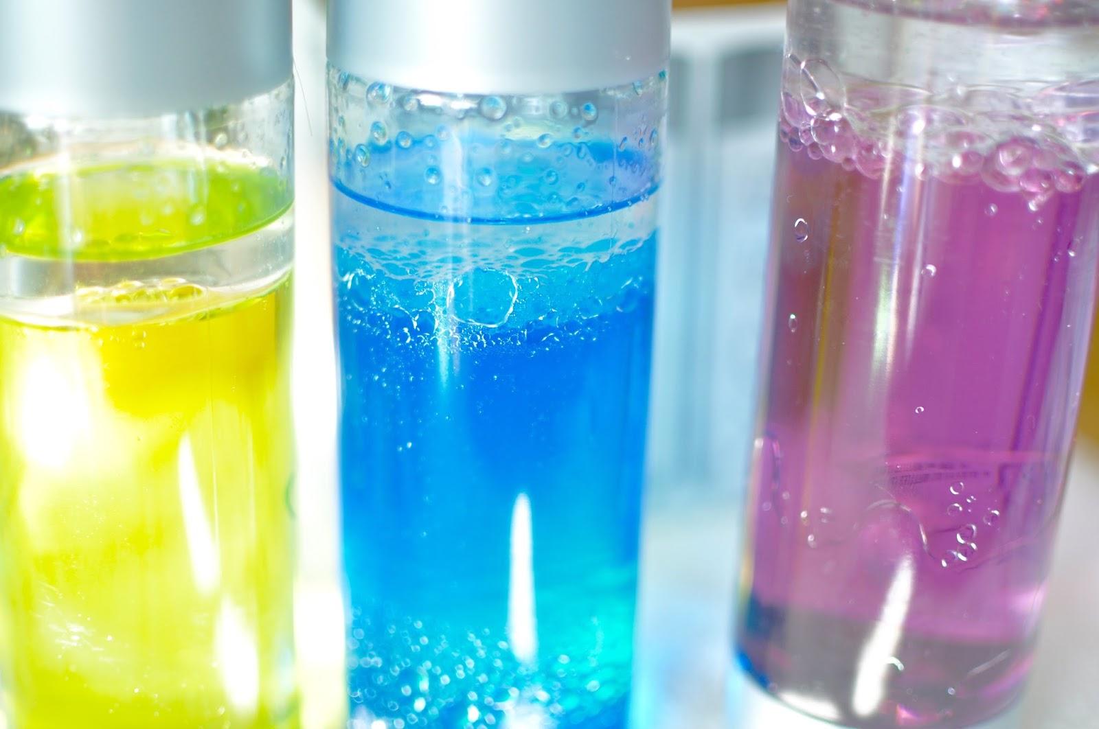 Random-osity: Sensory Bottles