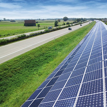 Financial Conservation Solar Energy Solar Highway In Germany