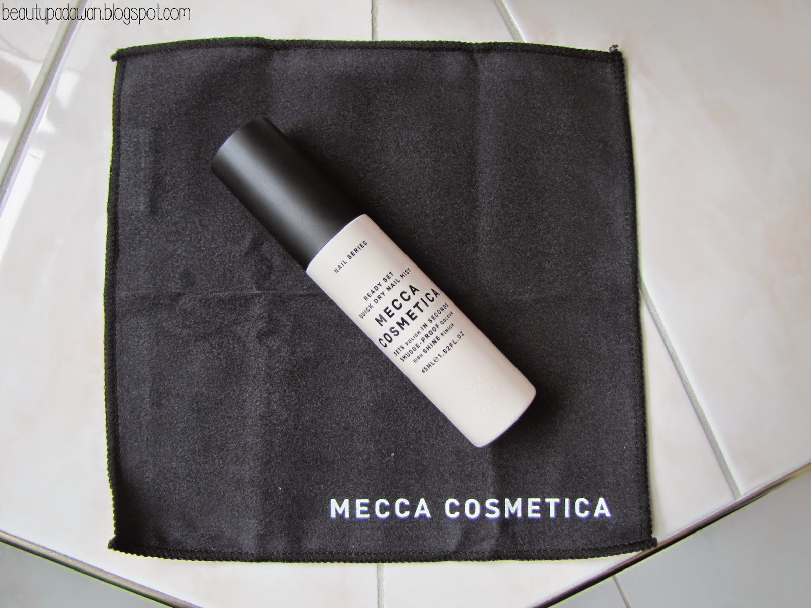Mecca Cosmetica Ready Set Quick Dry Nail Mist