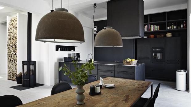 Blog decoraci n chic and deco ideas e inspiraci n para for Lampara industrial cocina