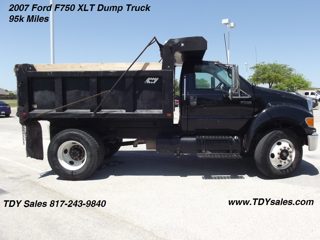 For Sale - 2007 Ford F750 XLT Dump Truck - TDY Sales 817-243-9840 ...