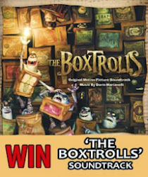 "TMN's ""The Boxtrolls"" Soundtrack CD"