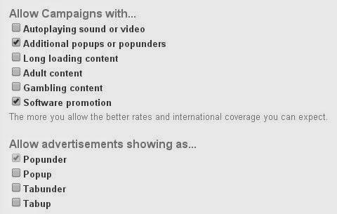 Cara Uangkan Trafik Blog Dengan PopAds