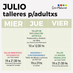 AGENDA ACTIVIDADES ADULTOS JULIO 2019