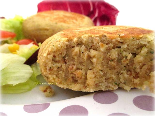 hamburger di ceci... vegetariano, light e quasi vegano