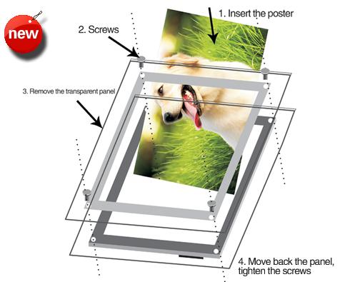 cuadro fabricado de material acrlico de alta resistencia de mm de grosor lleva incorporada tecnologa de luz led rgb altamente visible