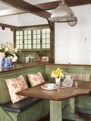 Decorando cocinas rusticas for Muebles de comedor diario
