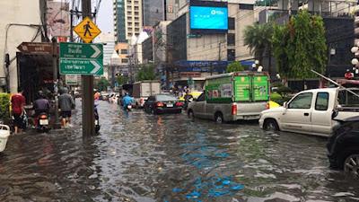 Bangkok Überschwemmung