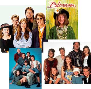 Reparto de la serie americana Blossom 1991-1995