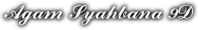 Agam Syahbana 9D