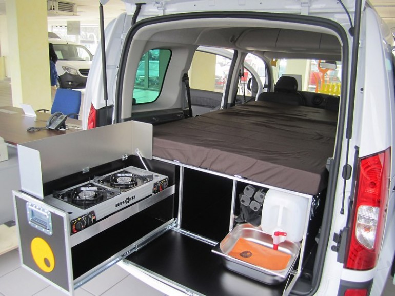 you can be sleeping, cooking or just hanging out in your QUQUQ camper
