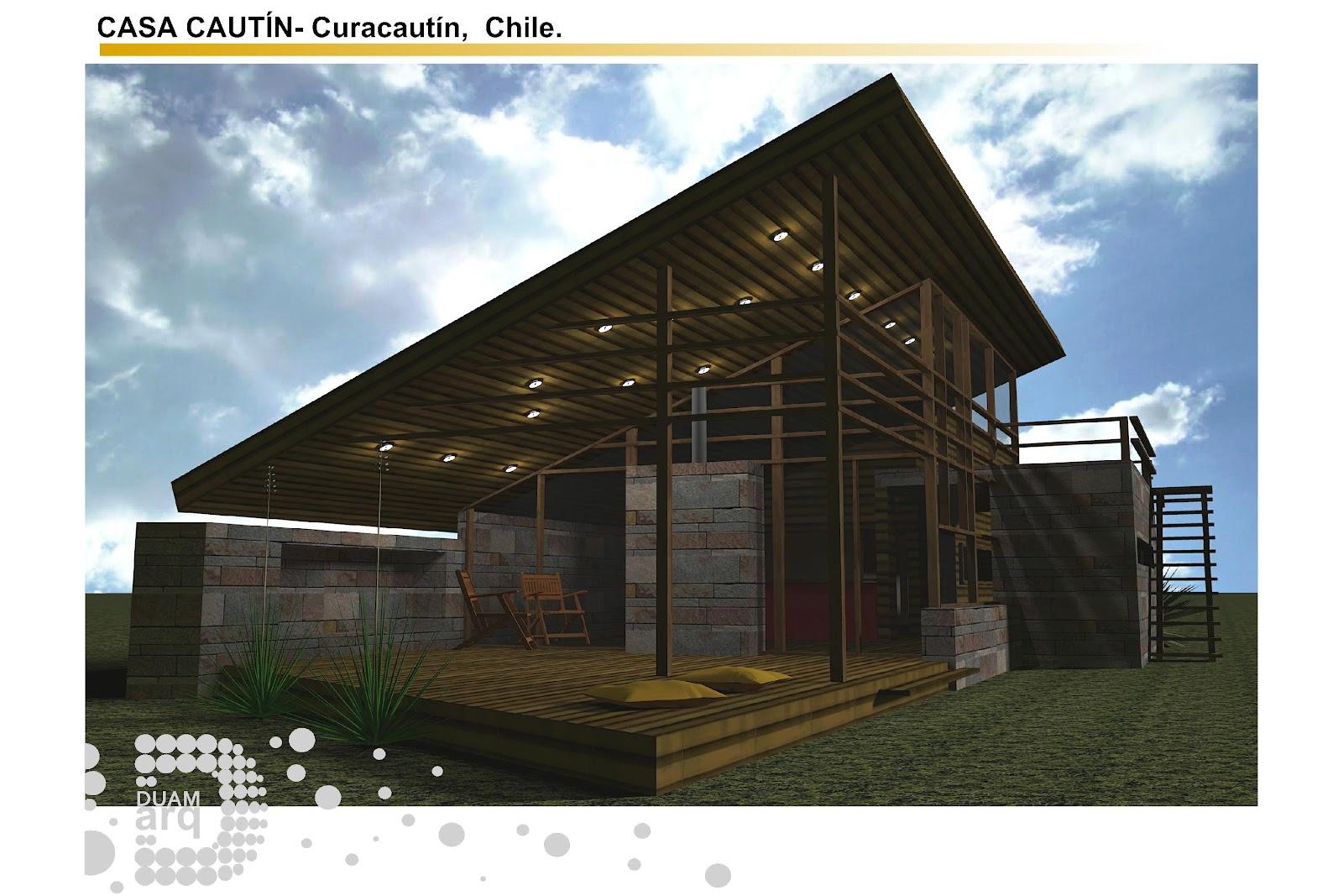 Arquitectura duam estudio casa caut n chile for Arquitectura 5 de mayo plan de estudios