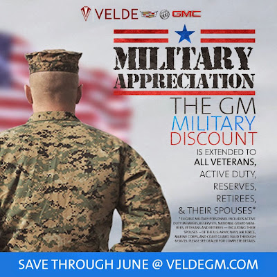 GM Military Discount Extended Through June
