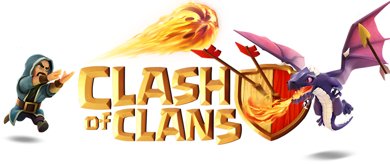 New Clash of Clans Logo