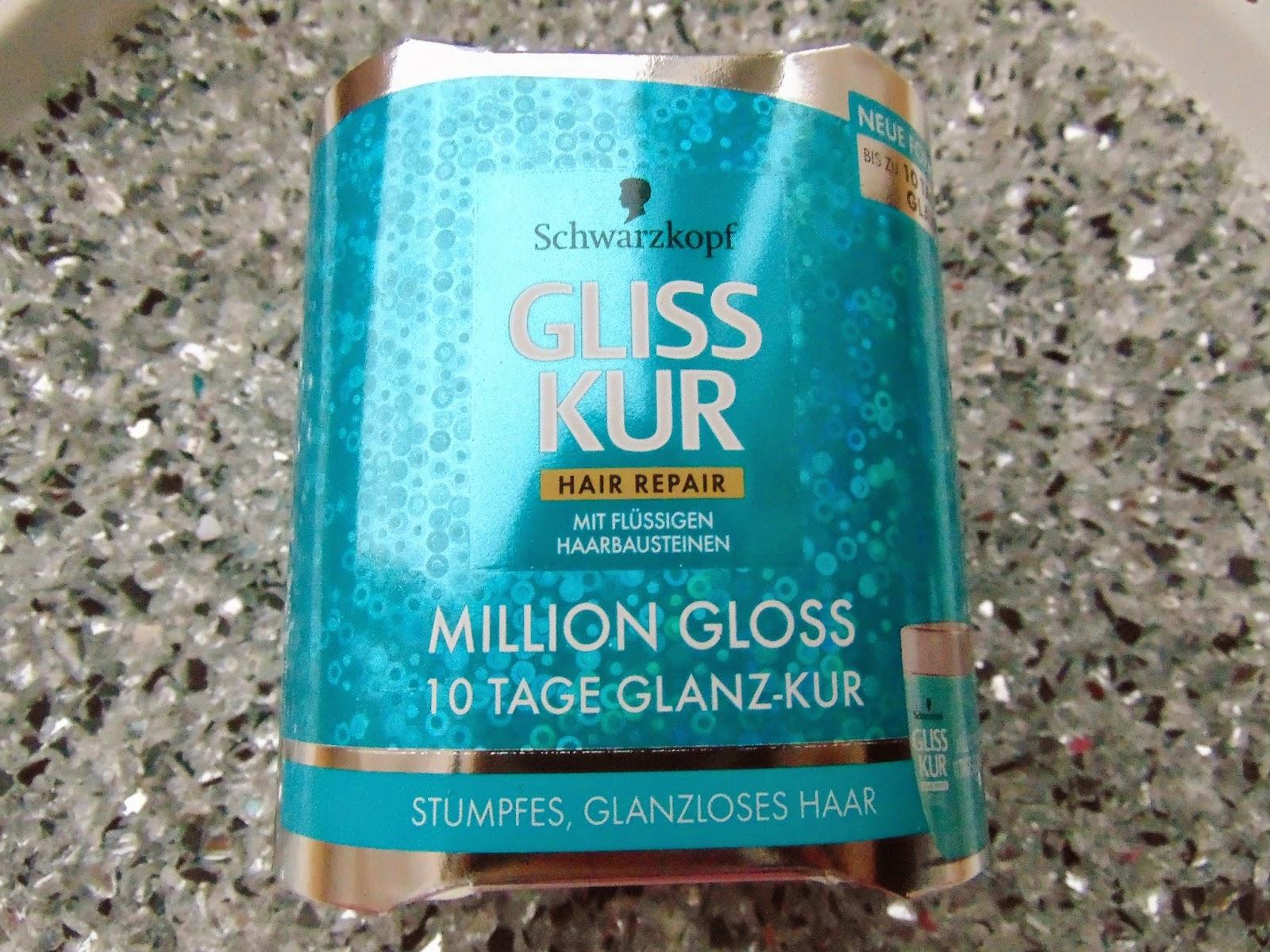 Gliss Kur Million Gloss 10 Tage Glanz-Kur - www.annitschkasblog.de