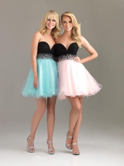 Pastel colored summer dresses