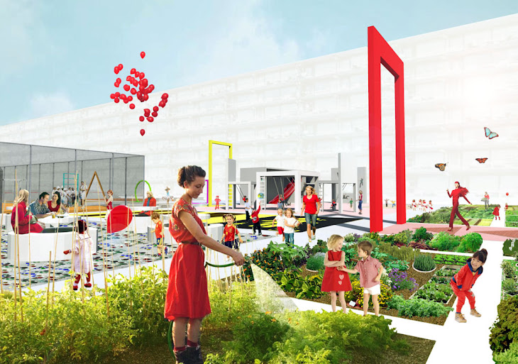Sustainable Krajicek Playgrounds by BOARD