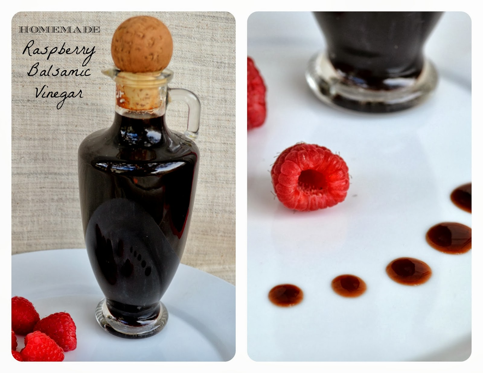 Jennuine by Rook No. 17*: Recipe: Homemade Raspberry Balsamic Vinegar ...