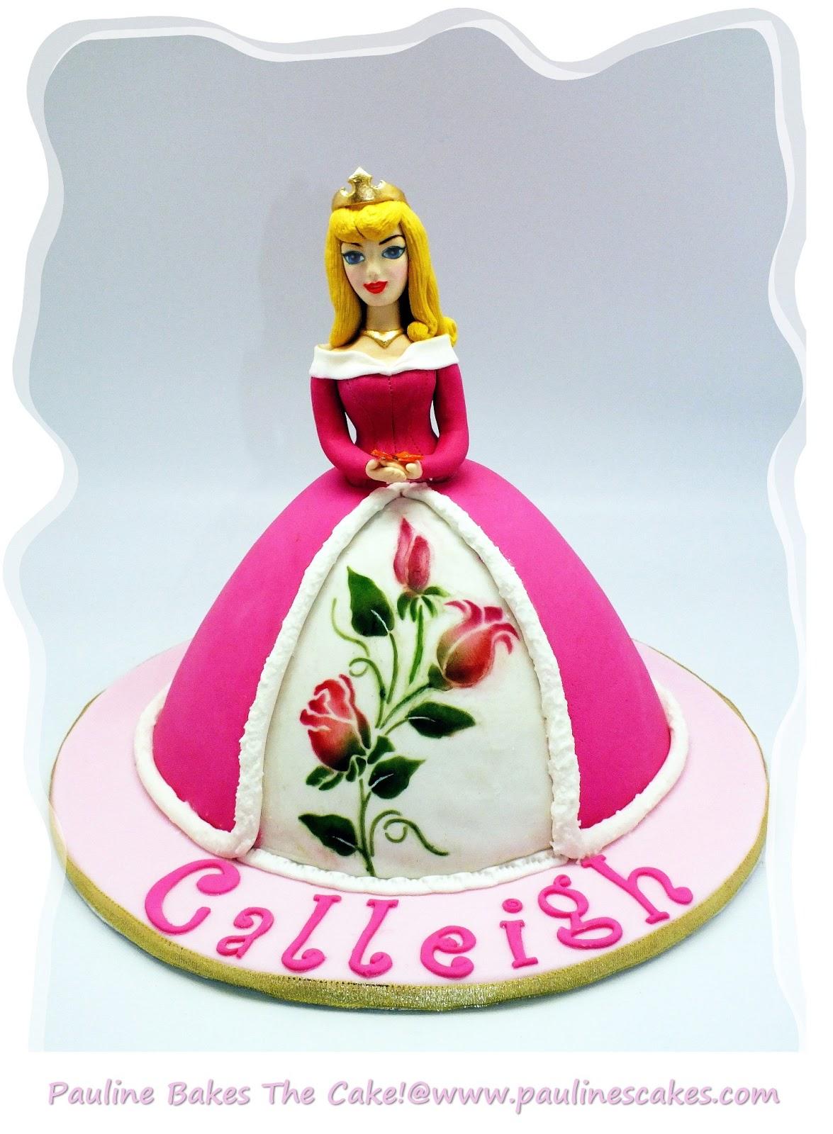 Pauline Bakes The Cake Princess Aurora The Sleeping Beauty Awakens