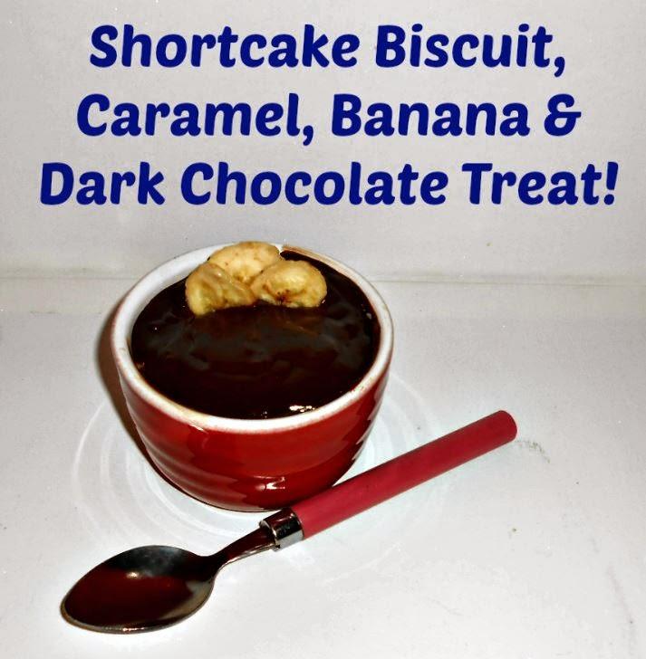 Shortcake Biscuit, Caramel, Banana & Chocolate Treats