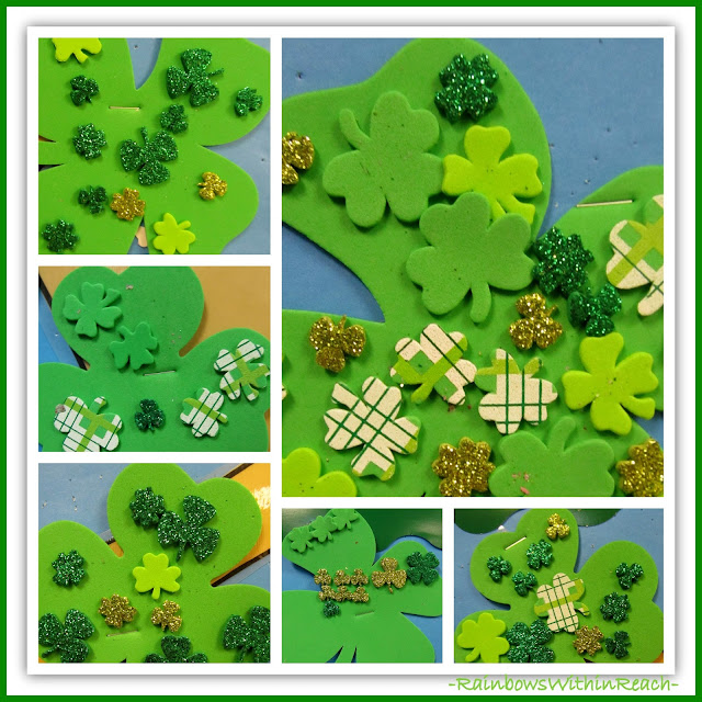 photo of: Shamrock Collages at RainbowsWithinReach