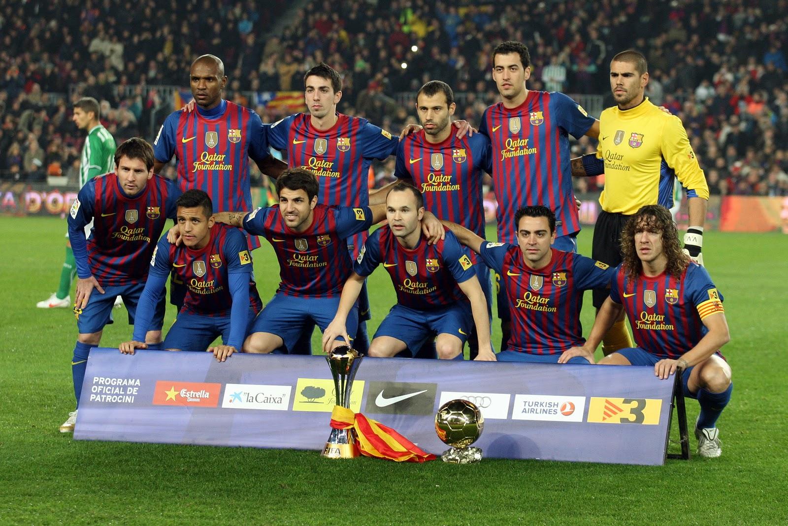 Fk Barselona Luchshij Futbolnyj Klub Oboi