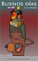 "Portada del libro ""Buenos días"", de Alicia González"